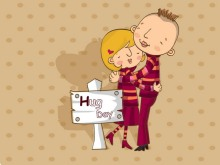 illustration-of-sweet-lovers-in-valentines-day-16001200-hug-day--valentines-day-wallpaper-99479